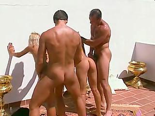 Retro European pornography