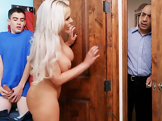 Hot command mom ride stepson's big dick