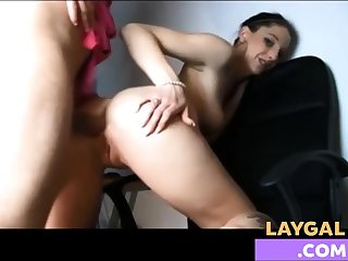 Amateur hot anal on real homemade