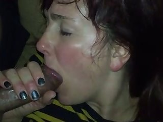 My GF has got so much energy that she just can't stop sucking my prick