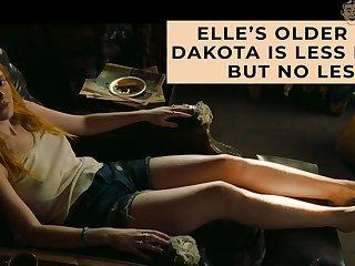 Nude Dakota Fanning compilation video
