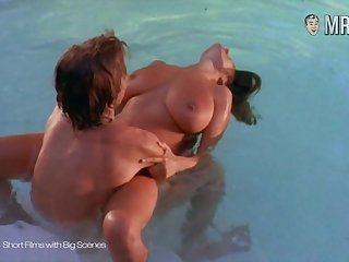 Large breasted celebrity enjoying some steamy sex by the pool