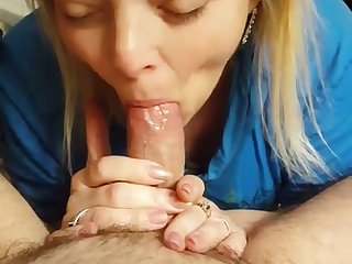 It's amazing how this harlot seems to love blowing my dick on camera
