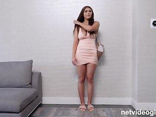 Calendar Audition Big Breast 19 Year in POV Porn