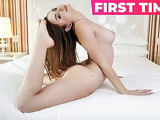 Petite and Horny 19 Year Old Teen Gets Her Cherry Popped!