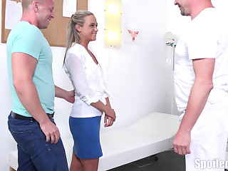 Blonde fucked painless per doctor's orders