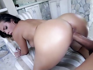 Keisha Grey ride monster cock
