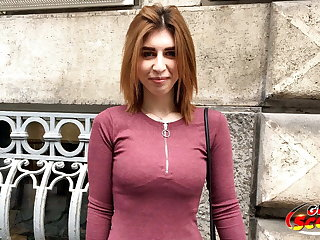 GERMAN SCOUT - Ginger Young Mia Talk to Get Laid at Model Job