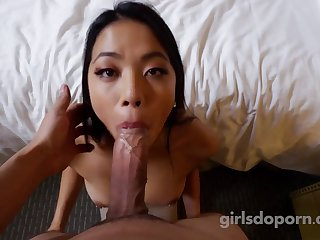 Cute asian auditions - casting porn video