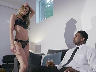Tara Ashley likes to fuck in all possible poses with her black lover