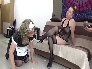 sissy maid and her mistress